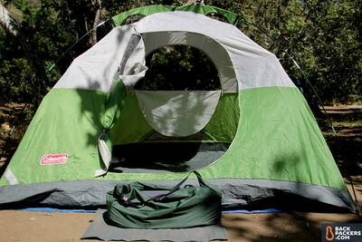 Exped-MegaMat-10-review-with-4P-tent