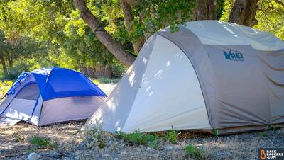 REI-Kingdom-4-Tent-with-rainfly-next-to-other-tent
