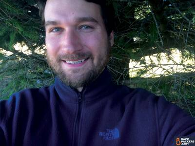 The-North-Face-Glacier-1/4-Zip-review-selfie