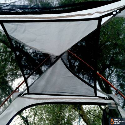 Alps-Mountaineering-Lynx-4-review-tent-inerior-gear-loft