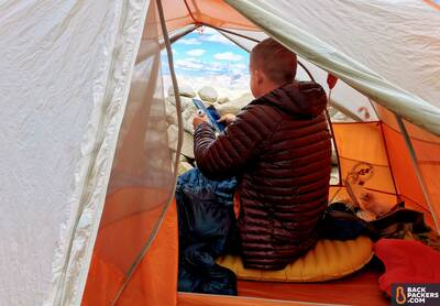 Big Agnes Copper Spur HV UL2 Review-peak-height-view