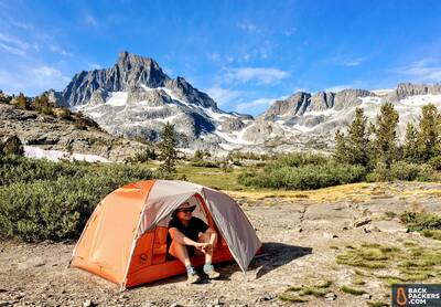 Big Agnes Copper Spur HV UL2 Review-tent-in-use-scenic