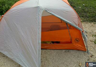 Big Agnes Copper Spur HV UL2 Review-tent-with-fly-and-door