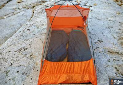 Big Agnes Copper Spur HV UL2 Review-tent-with-two-sleeping-pads