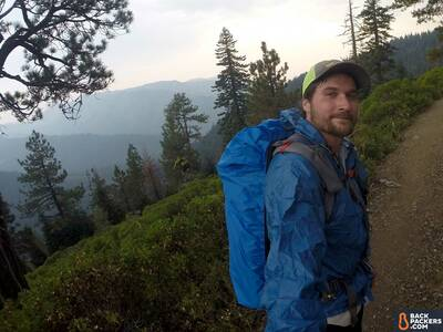 Frogg Toggs Ultra-Lite2 Jacket Review-no-hood-hiking