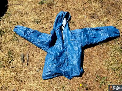Frogg Toggs Ultra-Lite2 Jacket Review-splayed-out