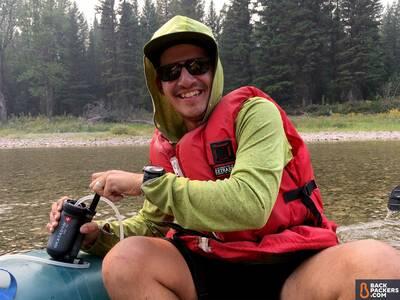 Katadyn-Hiker-Pro-review-pump-on-river