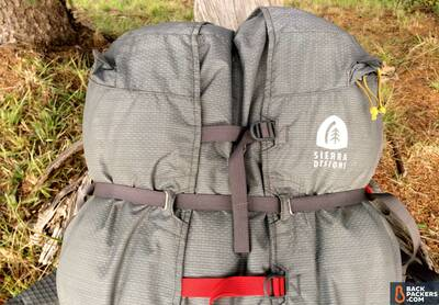 Sierra-Designs-Flex-Capacitor-review-top-of-pack-close-up-on-straps