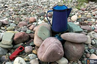 Snow-Peak-LiteMax-stove-review-percolator-coffee-cup