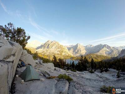 Tarptent-Double-Rainbow-scenic-shot-staked-with-rocks