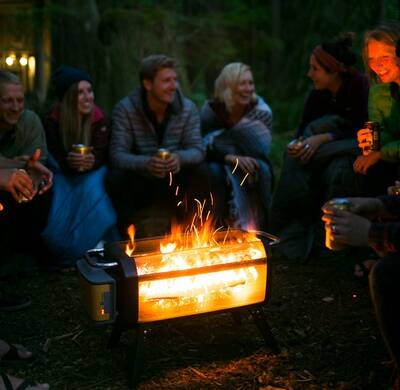 biolite FirePit camp gathering