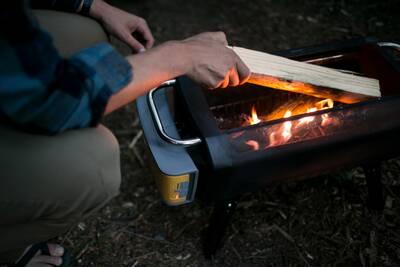 BioLite FirePit in use