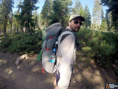smartwater-Bottle-review-with-backpack-hiking