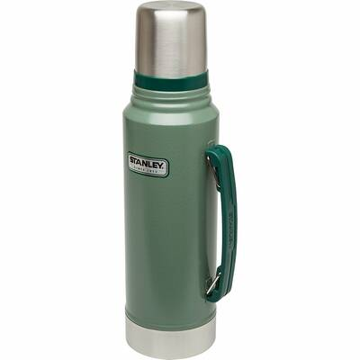Stanley Classic Vacuum Insulated Bottle 1.1QT stock image 2017 Car Camping Gift Guide