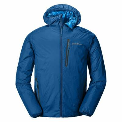 Eddie Bauer EverTherm Down Hooded Jacket Wilderness Backpacking Gift Guide