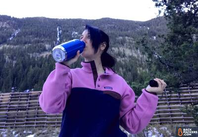 Klean-Kanteen-Insulated-Classic-32oz-review-drinking