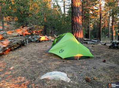 NEMO-Hornet-2P-review-tent-fully-staked