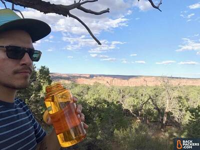 Nalgene-Wide-Mouth-32-oz-review-drinking