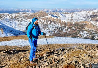 Patagonia-Nano-Air-Hoody-review-trekking-with-poles