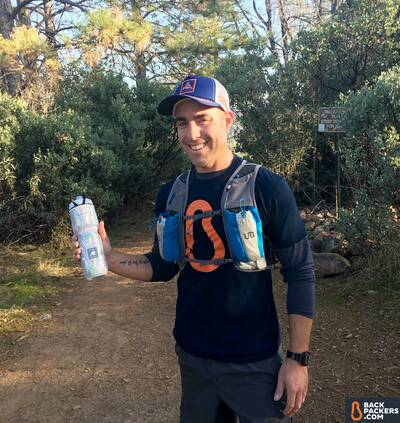 Polar-Bottle-Insulated-Sport-review-going-on-a-run