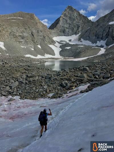 Altra-Lone-Peak-3.5-JMT-thru-hike-alpine-lake