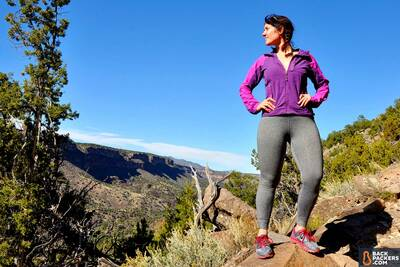 Saucony-Peregrine-7-review-on-a-hike-1