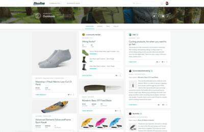massdrop outdoors community homepage