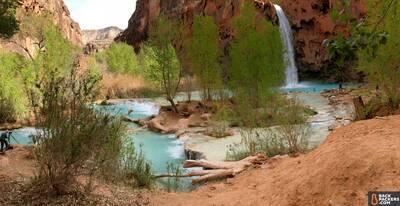 Havasupai Falls Hike in Arizona Wide