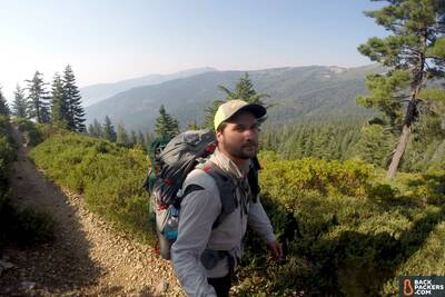 Section Hiking the Pacific Crest Trail Castle Crags to Etna Summit-hiking