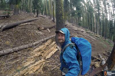 Section Hiking the Pacific Crest Trail Castle Crags to Etna Summit-rain-protection