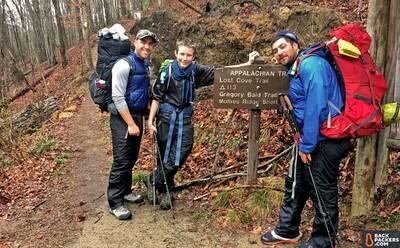 Sierra-Designs-Backcountry-Quilt-review-appalachian-trail-start