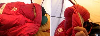 Sierra-Designs-Backcountry-Quilt-review-hood