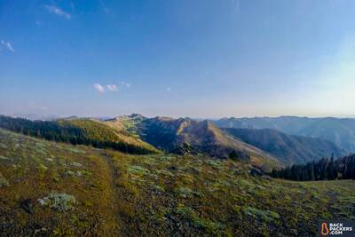 Section Hiking the Pacific Crest Trail marble mountain wilderness