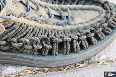 KEEN-Uneek-review-braided-polyester