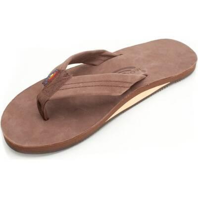 best flip flops Rainbow Sandals Single Layer Premier Leather