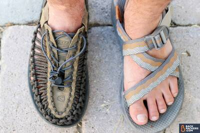 best-hiking-sandals-closed-toe-vs-open-toe