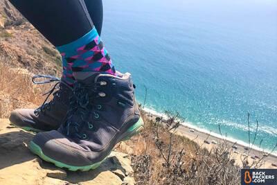 Ahnu Womens W Sugarpine Ii Waterproof Ripstop Hiking Shoe