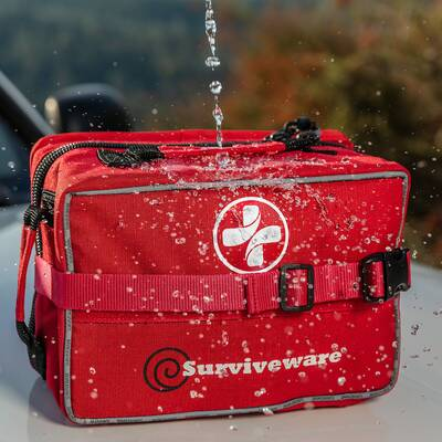 holiday gift guide 2020 Surviveware Large First Aid Kit Main Waterproof