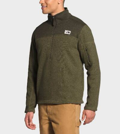 holiday gift guide 2020 The North Face Gordon Lyons Quarter Pullover