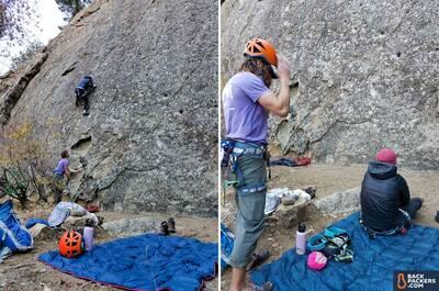 2-Rumpl-Down-Puffy-Blanket-review-rock-climbing-3