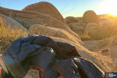 Rumpl-Down-Puffy-Blanket-review-in-desert-3