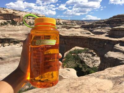 How to Solo Backpacking, Hiking, and Travel for Women Nalgene Wide Mouth 32oz