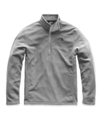 The North Face TKA 100 Glacier 1-4 Zip best fleece jackets