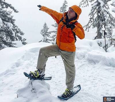 Arc'teryx-Beta-SL-Hybrid-review-pose-above-Odell-Lake-on-PCT-featured-1