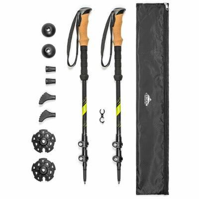 new and noteworthy alpine budget 2019 Cascade-Mountain-Tech-Carbon-Fiber-Quick-Lock-Cork-Grip-Trekking-Pole-With-Bag_1296x