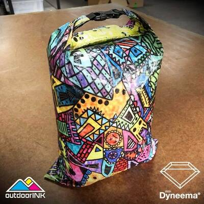 ripstop by the roll Roll Top Dry bag Kit with Dyneema Composite Fabric