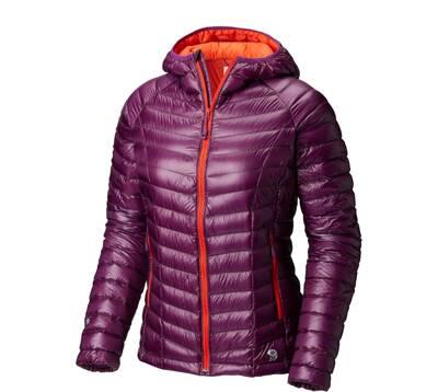 best down jackets Mountain Hardwear Ghost Whisperer Hooded women