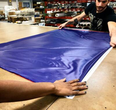 ripstop by the roll folding fabric