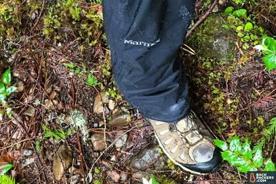 Marmot-PreCip-Pants-review-shoe-cover
