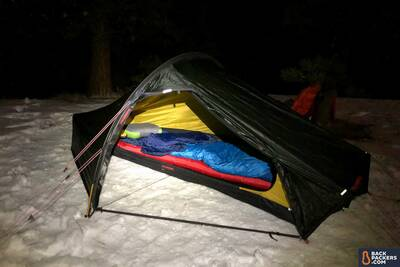 Marmot-Trestles-15-review-camping-on-snow